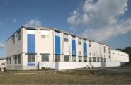 ギフト工場併設の品質の向上、衛生管理を主体とした揖保乃糸手延素麵工場を新設。
